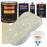 Performance Bright White - Urethane Basecoat with Clearcoat Auto Paint - Complete Slow Gallon Paint Kit - Professional High Gloss Automotive, Car, Truck Coating