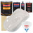 Oxford White - Urethane Basecoat with Clearcoat Auto Paint - Complete Fast Gallon Paint Kit - Professional High Gloss Automotive, Car, Truck Coating