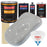 Mesa Gray - Urethane Basecoat with Clearcoat Auto Paint - Complete Slow Gallon Paint Kit - Professional High Gloss Automotive, Car, Truck Coating