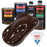 Dark Brown - Urethane Basecoat with Clearcoat Auto Paint - Complete Medium Quart Paint Kit - Professional High Gloss Automotive, Car, Truck Coating