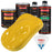 Canary Yellow - Urethane Basecoat with Premium Clearcoat Auto Paint - Complete Medium Quart Paint Kit - Professional High Gloss Automotive Coating