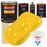 Sunshine Yellow - Urethane Basecoat with Premium Clearcoat Auto Paint - Complete Slow Gallon Paint Kit - Professional High Gloss Automotive Coating