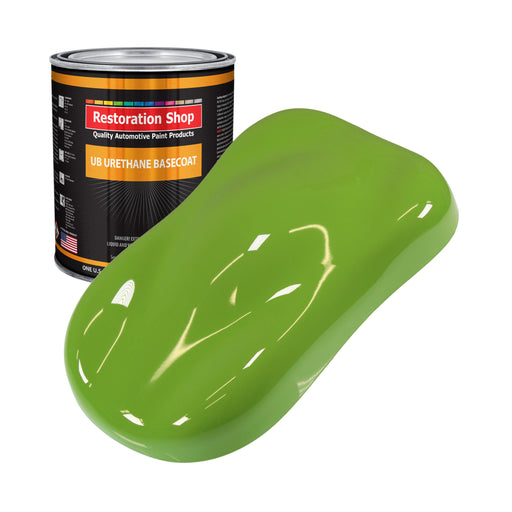 Sublime Green - Urethane Basecoat Auto Paint - Gallon Paint Color Only - Professional High Gloss Automotive, Car, Truck Coating