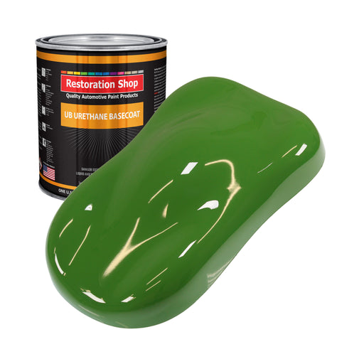 Deere Green - Urethane Basecoat Auto Paint - Gallon Paint Color Only - Professional High Gloss Automotive, Car, Truck Coating