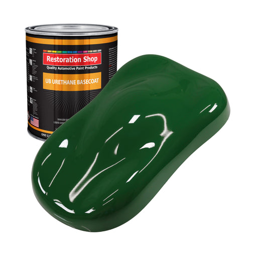 Speed Green - Urethane Basecoat Auto Paint - Gallon Paint Color Only - Professional High Gloss Automotive, Car, Truck Coating