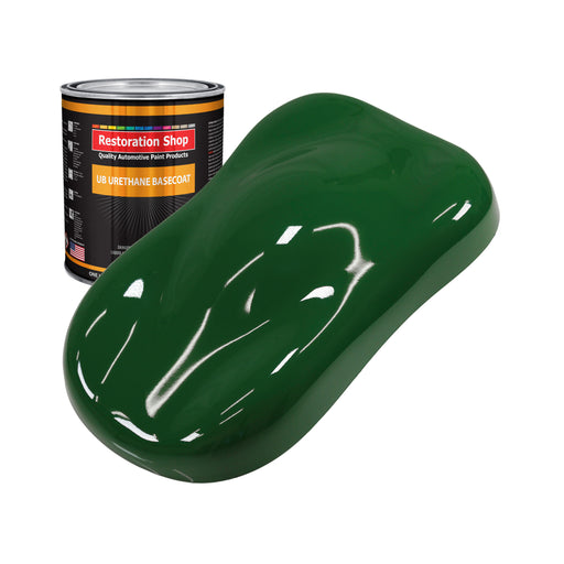 Speed Green - Urethane Basecoat Auto Paint - Quart Paint Color Only - Professional High Gloss Automotive, Car, Truck Coating