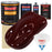 Carmine Red - Urethane Basecoat with Clearcoat Auto Paint - Complete Fast Gallon Paint Kit - Professional High Gloss Automotive, Car, Truck Coating