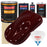 Burgundy - Urethane Basecoat with Clearcoat Auto Paint - Complete Slow Gallon Paint Kit - Professional High Gloss Automotive, Car, Truck Coating