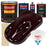 Royal Maroon - Urethane Basecoat with Clearcoat Auto Paint - Complete Medium Gallon Paint Kit - Professional High Gloss Automotive, Car, Truck Coating