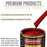 Torch Red - Urethane Basecoat with Clearcoat Auto Paint - Complete Medium Gallon Paint Kit - Professional High Gloss Automotive, Car, Truck Coating
