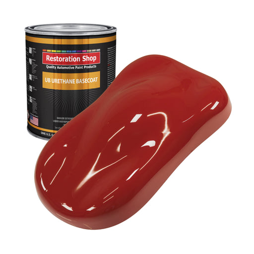 Jalapeno Bright Red - Urethane Basecoat Auto Paint - Gallon Paint Color Only - Professional High Gloss Automotive, Car, Truck Coating
