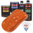 Sunset Orange - Urethane Basecoat with Clearcoat Auto Paint - Complete Medium Quart Paint Kit - Professional High Gloss Automotive, Car, Truck Coating