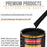 Boulevard Black - Urethane Basecoat with Premium Clearcoat Auto Paint - Complete Medium Gallon Paint Kit - Professional High Gloss Automotive Coating