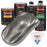 Graphite Gray Metallic - Urethane Basecoat with Premium Clearcoat Auto Paint - Complete Medium Quart Paint Kit - Professional High Gloss Automotive Coating