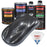 Gunmetal Grey Metallic - Urethane Basecoat with Clearcoat Auto Paint - Complete Medium Quart Paint Kit - Professional High Gloss Automotive, Car, Truck Coating