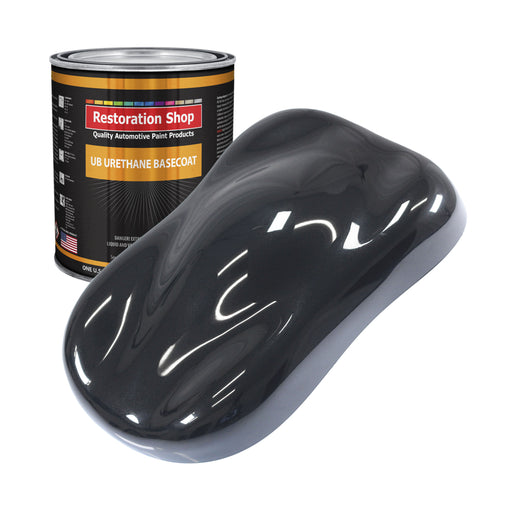 Phantom Black Pearl - Urethane Basecoat Auto Paint - Gallon Paint Color Only - Professional High Gloss Automotive, Car, Truck Coating