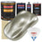 Galaxy Silver Metallic - Urethane Basecoat with Clearcoat Auto Paint - Complete Slow Gallon Paint Kit - Professional High Gloss Automotive, Car, Truck Coating