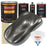 Chop Top Silver Metallic - Urethane Basecoat with Premium Clearcoat Auto Paint - Complete Slow Gallon Paint Kit - Professional High Gloss Automotive Coating