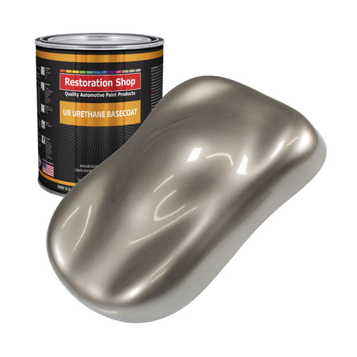 Arizona Bronze Metallic - Urethane Basecoat Auto Paint - Gallon Paint Color Only - Professional High Gloss Automotive, Car, Truck Coating