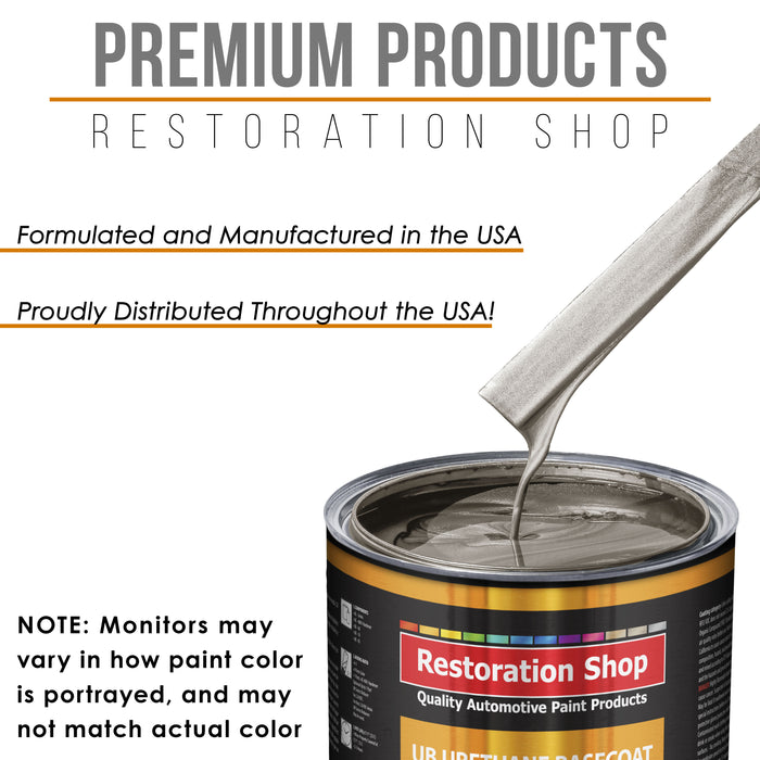 Arizona Bronze Metallic - Urethane Basecoat with Clearcoat Auto Paint - Complete Fast Gallon Paint Kit - Professional High Gloss Automotive, Car, Truck Coating