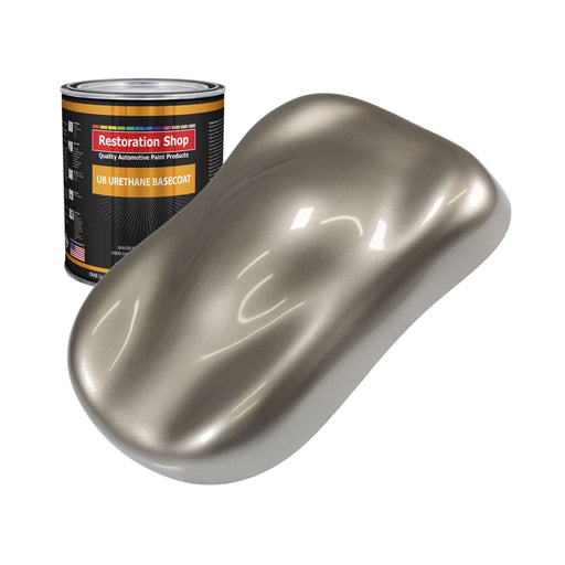 Arizona Bronze Metallic - Urethane Basecoat Auto Paint - Quart Paint Color Only - Professional High Gloss Automotive, Car, Truck Coating