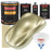 Antique Gold Metallic - Urethane Basecoat with Premium Clearcoat Auto Paint - Complete Medium Gallon Paint Kit - Professional High Gloss Automotive Coating