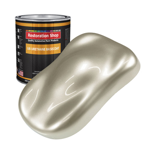 Gold Mist Metallic - Urethane Basecoat Auto Paint - Gallon Paint Color Only - Professional High Gloss Automotive, Car, Truck Coating