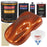 Inferno Orange Pearl Metallic - Urethane Basecoat with Clearcoat Auto Paint - Complete Medium Gallon Paint Kit - Professional High Gloss Automotive, Car, Truck Coating