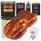 Inferno Orange Pearl Metallic - Urethane Basecoat with Clearcoat Auto Paint - Complete Slow Gallon Paint Kit - Professional High Gloss Automotive, Car, Truck Coating
