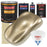 Driftwood Beige Metallic - Urethane Basecoat with Clearcoat Auto Paint - Complete Fast Gallon Paint Kit - Professional High Gloss Automotive, Car, Truck Coating