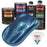 Cobra Blue Metallic - Urethane Basecoat with Clearcoat Auto Paint - Complete Medium Quart Paint Kit - Professional High Gloss Automotive, Car, Truck Coating