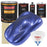 Indigo Blue Metallic - Urethane Basecoat with Premium Clearcoat Auto Paint - Complete Slow Gallon Paint Kit - Professional High Gloss Automotive Coating