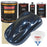 Moonlight Drive Blue Metallic - Urethane Basecoat with Premium Clearcoat Auto Paint - Complete Slow Gallon Paint Kit - Professional High Gloss Automotive Coating