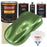 Medium Green Metallic - Urethane Basecoat with Premium Clearcoat Auto Paint - Complete Slow Gallon Paint Kit - Professional High Gloss Automotive Coating