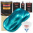 Teal Green Metallic - Urethane Basecoat with Premium Clearcoat Auto Paint - Complete Fast Gallon Paint Kit - Professional High Gloss Automotive Coating