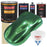 Emerald Green Metallic - Urethane Basecoat with Clearcoat Auto Paint - Complete Fast Gallon Paint Kit - Professional High Gloss Automotive, Car, Truck Coating