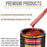 Firethorn Red Pearl - Urethane Basecoat Auto Paint - Gallon Paint Color Only - Professional High Gloss Automotive, Car, Truck Coating