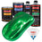 Firemist Green - Urethane Basecoat with Clearcoat Auto Paint - Complete Medium Quart Paint Kit - Professional High Gloss Automotive, Car, Truck Coating