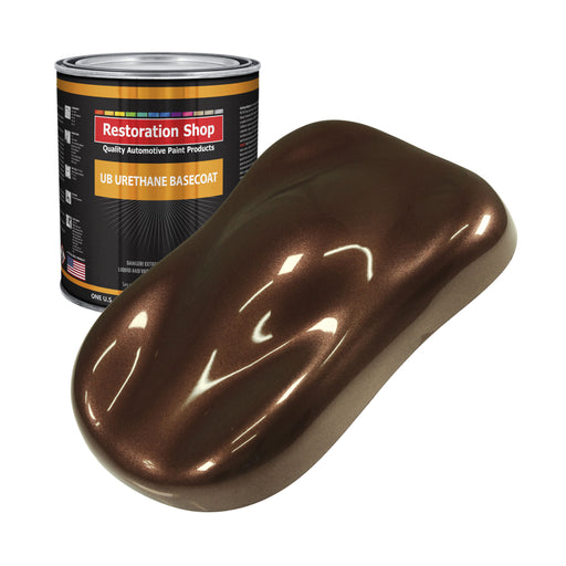 Saddle Brown Firemist - Urethane Basecoat Auto Paint - Gallon Paint Color Only - Professional High Gloss Automotive, Car, Truck Coating