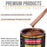 Whole Earth Brown Firemist - Urethane Basecoat with Premium Clearcoat Auto Paint - Complete Medium Gallon Paint Kit - Professional High Gloss Automotive Coating