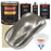 Firemist Pewter Silver - Urethane Basecoat with Premium Clearcoat Auto Paint - Complete Slow Gallon Paint Kit - Professional High Gloss Automotive Coating