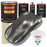 Charcoal Gray Firemist - Urethane Basecoat with Premium Clearcoat Auto Paint - Complete Medium Gallon Paint Kit - Professional High Gloss Automotive Coating