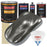 Charcoal Gray Firemist - Urethane Basecoat with Clearcoat Auto Paint - Complete Slow Gallon Paint Kit - Professional High Gloss Automotive, Car, Truck Coating