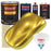 Saturn Gold Firemist - Urethane Basecoat with Clearcoat Auto Paint - Complete Fast Gallon Paint Kit - Professional High Gloss Automotive, Car, Truck Coating