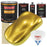 Saturn Gold Firemist - Urethane Basecoat with Premium Clearcoat Auto Paint - Complete Medium Gallon Paint Kit - Professional High Gloss Automotive Coating