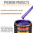 Firemist Purple - Urethane Basecoat with Clearcoat Auto Paint - Complete Fast Gallon Paint Kit - Professional High Gloss Automotive, Car, Truck Coating