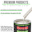 Pure White - 3.5 Low VOC Urethane Basecoat Automotive Car Paint, 1 Quart Only