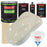 Performance Bright White - LOW VOC Urethane Basecoat with Premium Clearcoat Auto Paint - Complete Slow Gallon Paint Kit - Professional High Gloss Automotive Coating