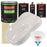 Oxford White - LOW VOC Urethane Basecoat with Premium Clearcoat Auto Paint - Complete Fast Gallon Paint Kit - Professional High Gloss Automotive Coating