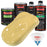 Springtime Yellow - LOW VOC Urethane Basecoat with Premium Clearcoat Auto Paint - Complete Medium Quart Paint Kit - Professional High Gloss Automotive Coating
